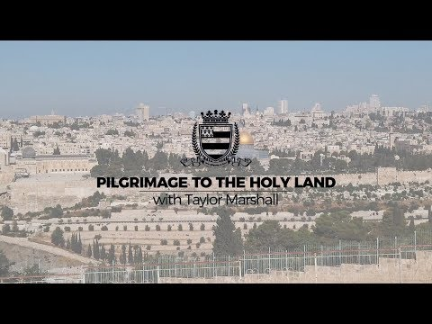 Holy Land Pilgrimage Video plus 2020 Rosary Pilgrimage from Fatima to Lourdes