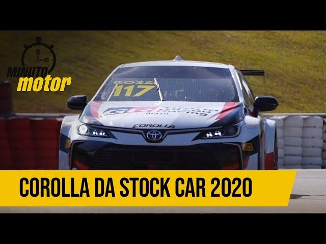 Com 550 cv, conheça o Corolla que será usado na Stock Car 2020