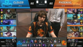 c9 contractz rengar vs p1 meteos olaf game 2 highlights 2017 na lcs spring w5d3