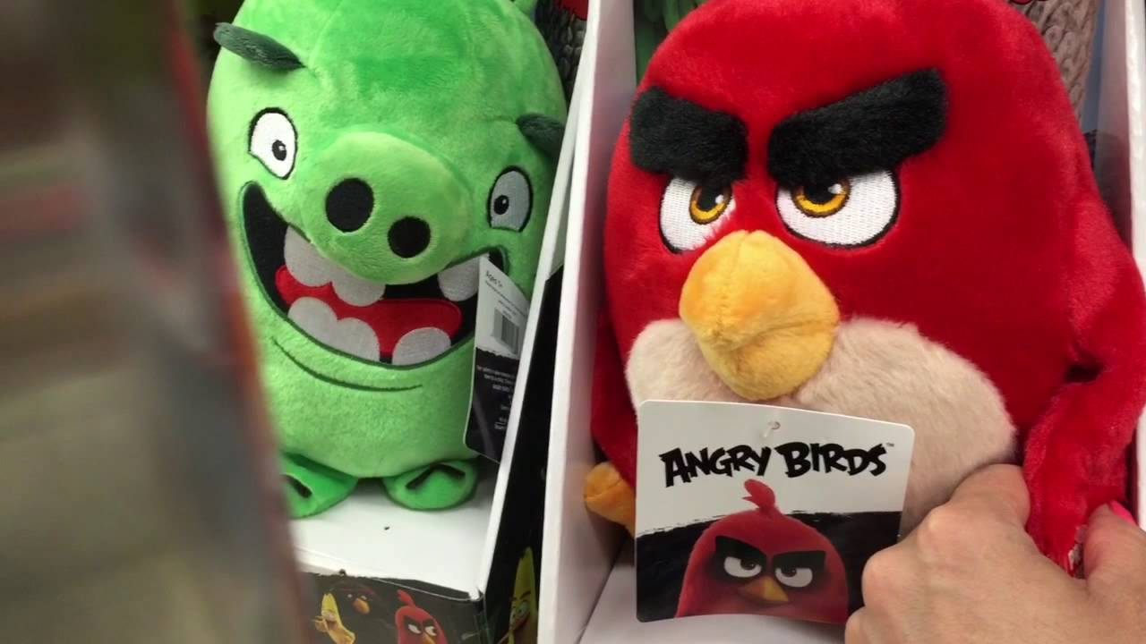 Birds Toys R Us : Angry birds toys hunting buscando juguetes r us