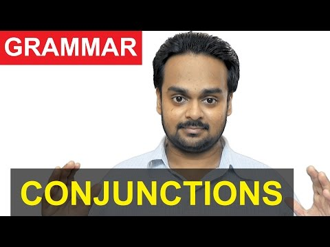 CONJUNCTIONS - Parts of Speech - Advanced Grammar - Types of Conjunctions with Examples