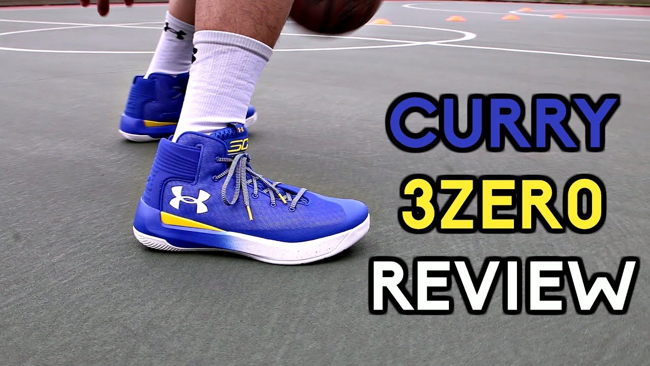 1adeb572829 Under Armour CURRY 3ZER0 Performance Review! - YouTube