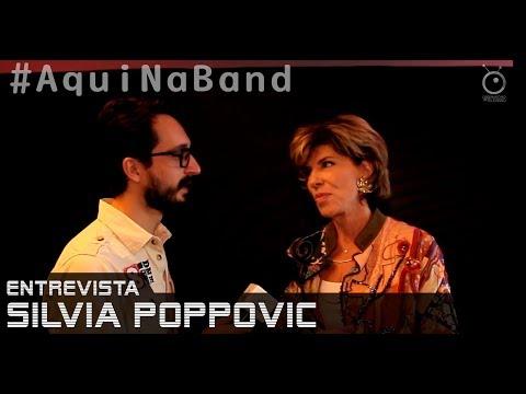 Aqui na Band - Entrevista com Silvia Poppovic