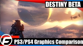 Destiny Beta PS3 Vs PS4 Graphics Comparison 1080p