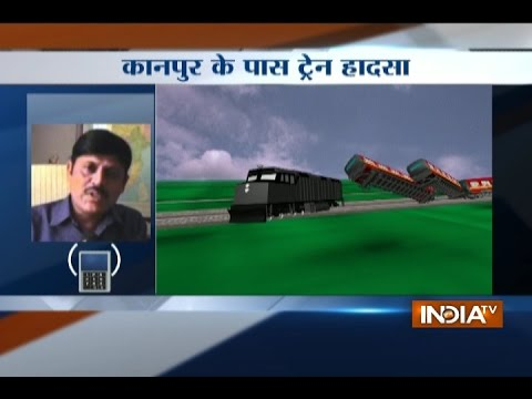 Kanpur: 14 coaches of Patna Indore express derail near Pukhrayan