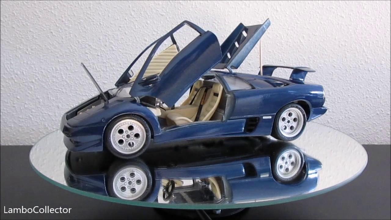 Bburago 1 18 Lamborghini Diablo 1990 Blue