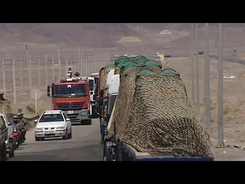 İran nükleer santrallerin çevresine...