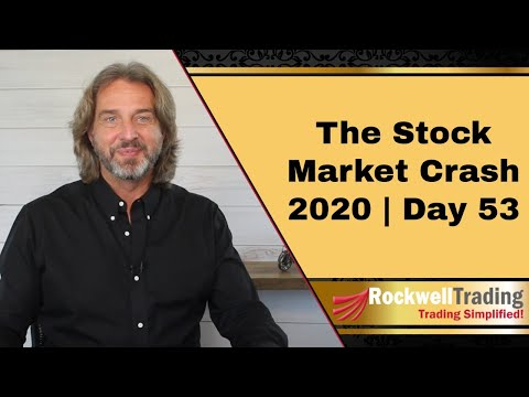🔴 The Stock Market Crash 2020 – Day 53 | How I Manage A Losing Trade Part III