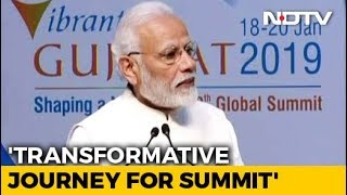 """""""India Ready For Business As Never Before"""": PM At Vibrant Gujarat Summit"""