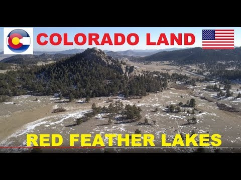 Colorado Land For Sale: Red Feather Lakes