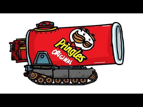 Lays и Принглс сделали танки? - Танковая Дичь (анимация)
