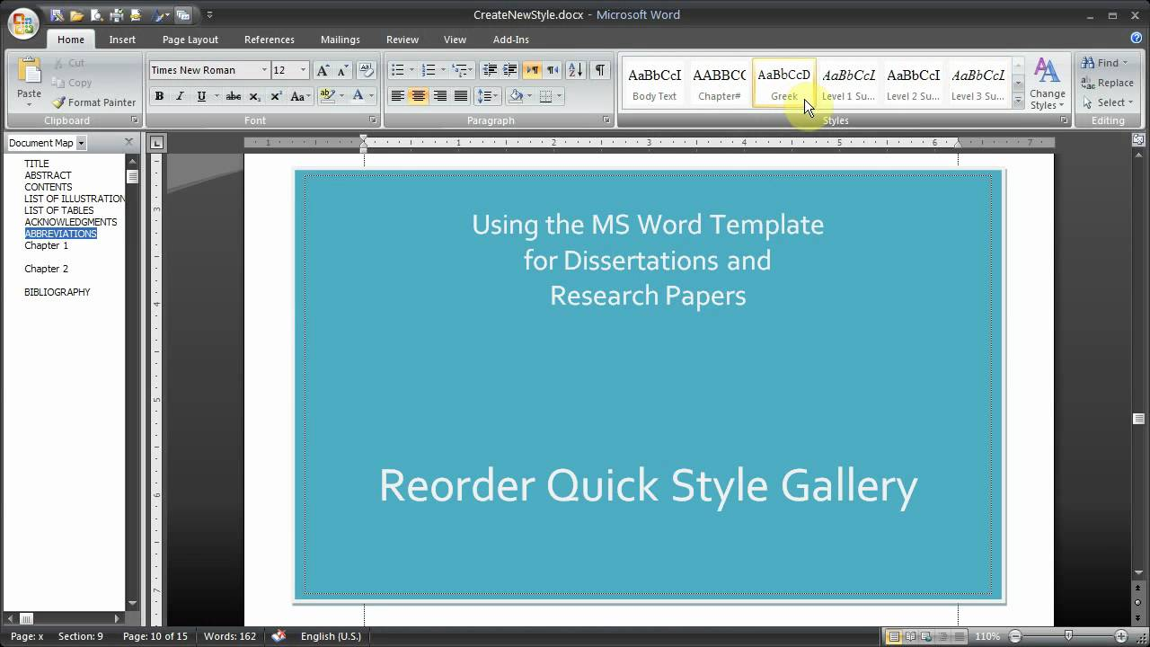 ms word thesis Although students may use the template to create their thesis document, submission to uvicspace must be a pdf document produced from download the ms word.