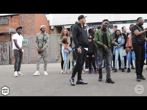 LOTTO BOYZ VIDEO SHOOT BIRMINGHAM