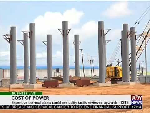 Cost of power - Business Live on JoyNews (29-8-17)