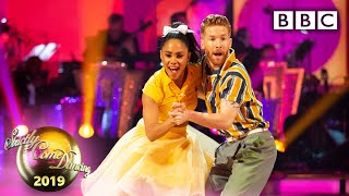 Alex and Neil Jive to 'Let's Twist Again' - Week 8 | BBC Strictly 2019