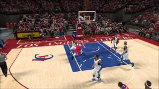 NBA 2K13 - Self Alley-Oop