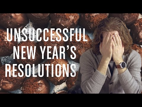 Unsuccessful New Year's Resolutions