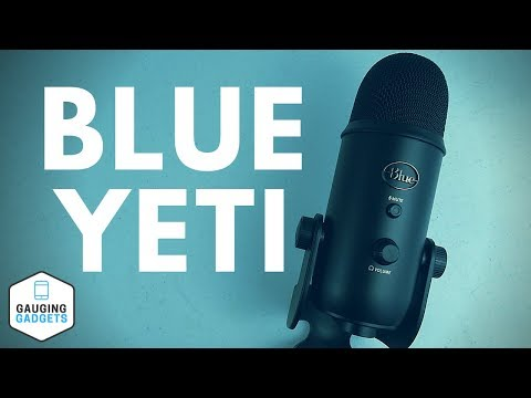Blue Yeti USB Microphone Review - Audio Test and Setup