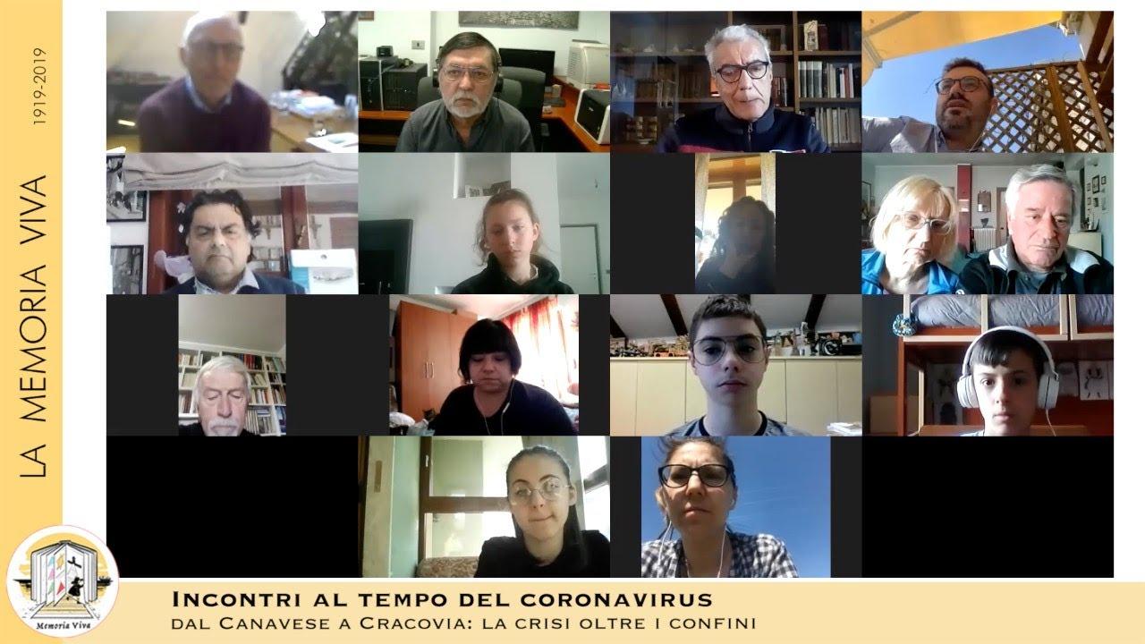 Un salotto al tempo del coronavirus