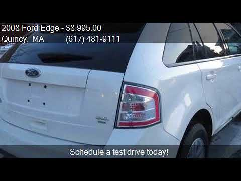 Ford Edge Sel Awd Dr Crossover For Sale In Quincy Ma