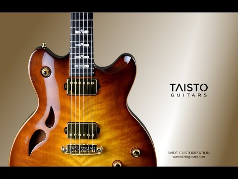 AROK Series Custom Guitar Video