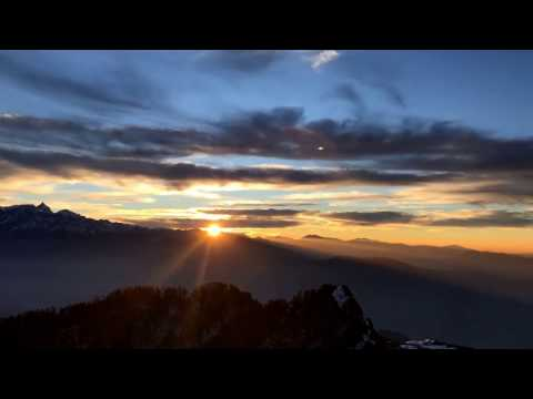 Beautiful Sun Rise TimeLapse - Kalinchowk, Nepal - [Shot with iPhone7]
