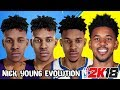 Nick Young Ratings and Face Evolution (NBA 2K8 - NBA 2K18)
