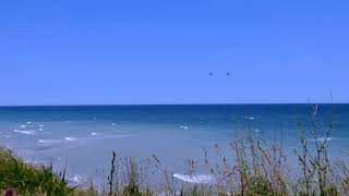 4K Relaxing Sea Ocean Waves Sounds -Nature Relaxation Video - NO MUSIC - UHD 2160p
