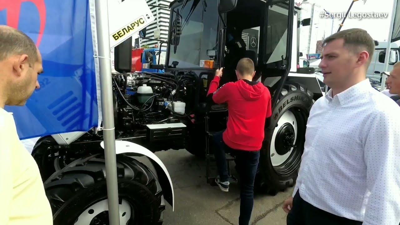 Як робить ГБО на тракторі МТЗ-892 за 45000 / Огляд на #АГРО2019