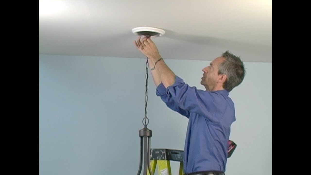 Recessed Lighting Keeps Falling Out : Recessed light converter chandelier how to install