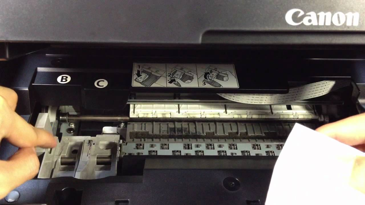 ir2270 how to clean the printer