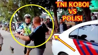 Video Full Anggota TNI vs Polisi di Palembang di depan kampus Universitas Muhammadiyah