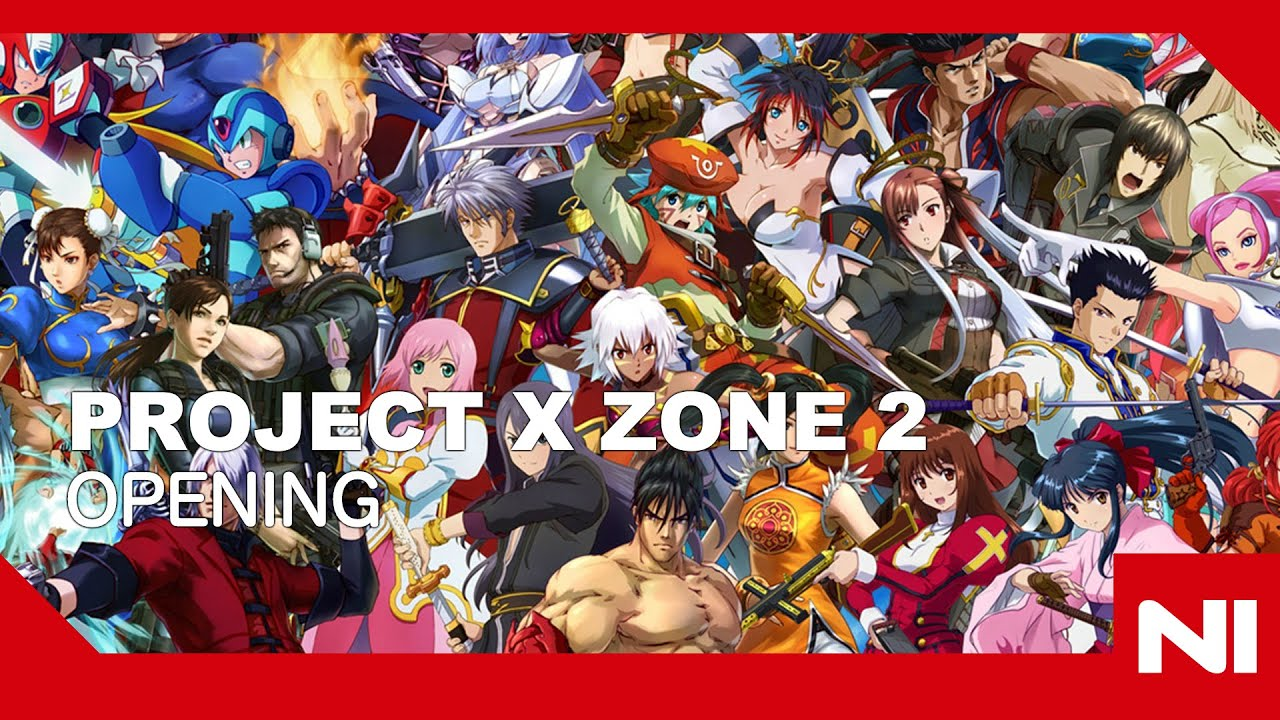 Project X Zone 2 Opening Cinematic Sekai Ha Hitotsu No Budai