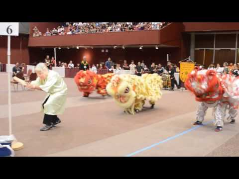 Dragon Dance Opening Ceremony at the San Diego Internationals Martial Arts Tournament Part 2