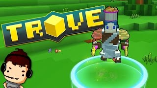 GETTING STARTED IN TROVE!! - Let's Play Trove Ep 1 (Trove Gameplay)