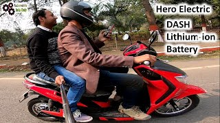 Hero Electric DASH Lithium ion Battery Smooth Pickup My First Review
