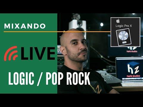 Live #Mixagem ao Vivo EP 1 #Logic Pro X + Pop #Rock Alternativo