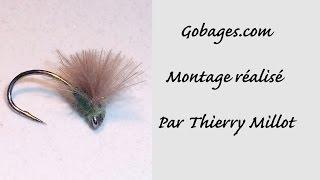 Montage d'une mouche par Thierry Millot : la nobody