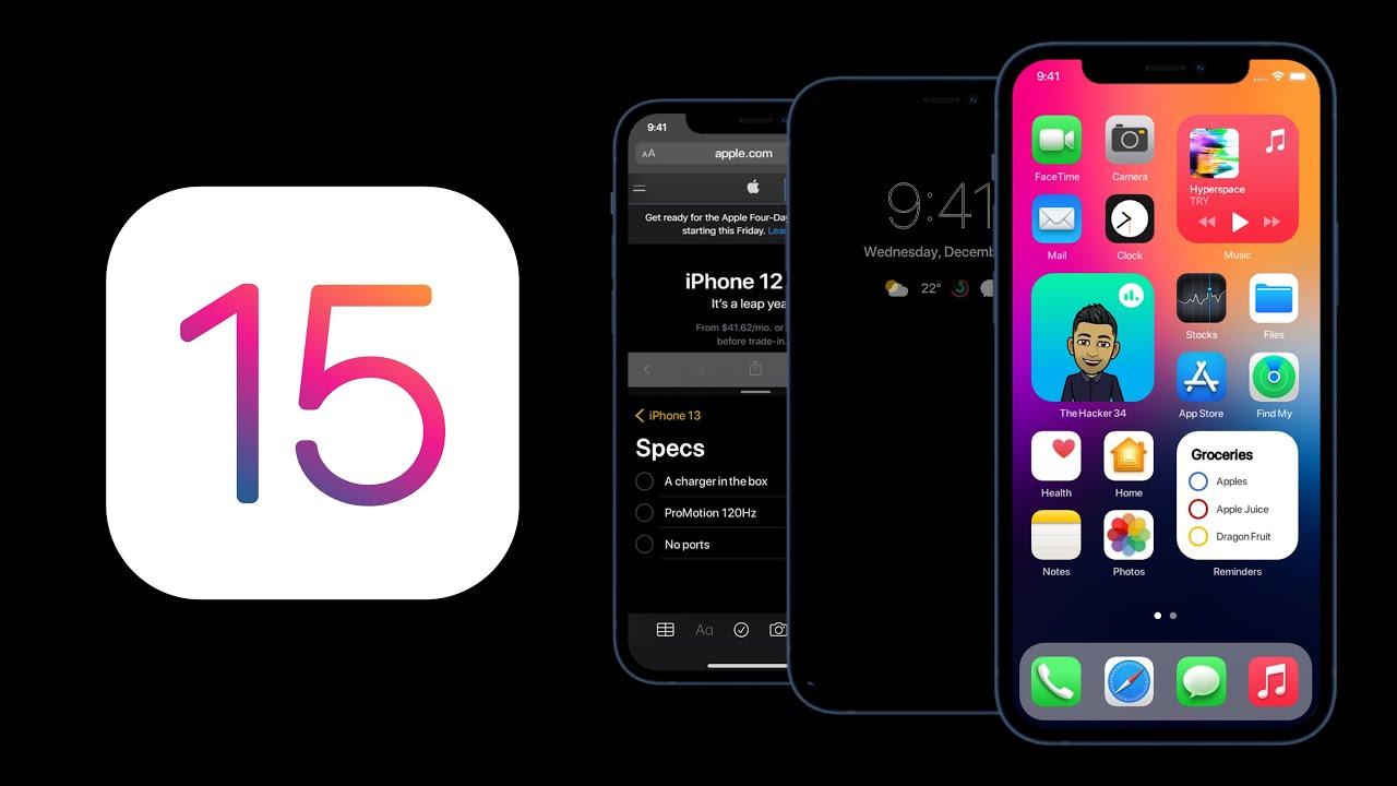 Meet iOS 15 Concept