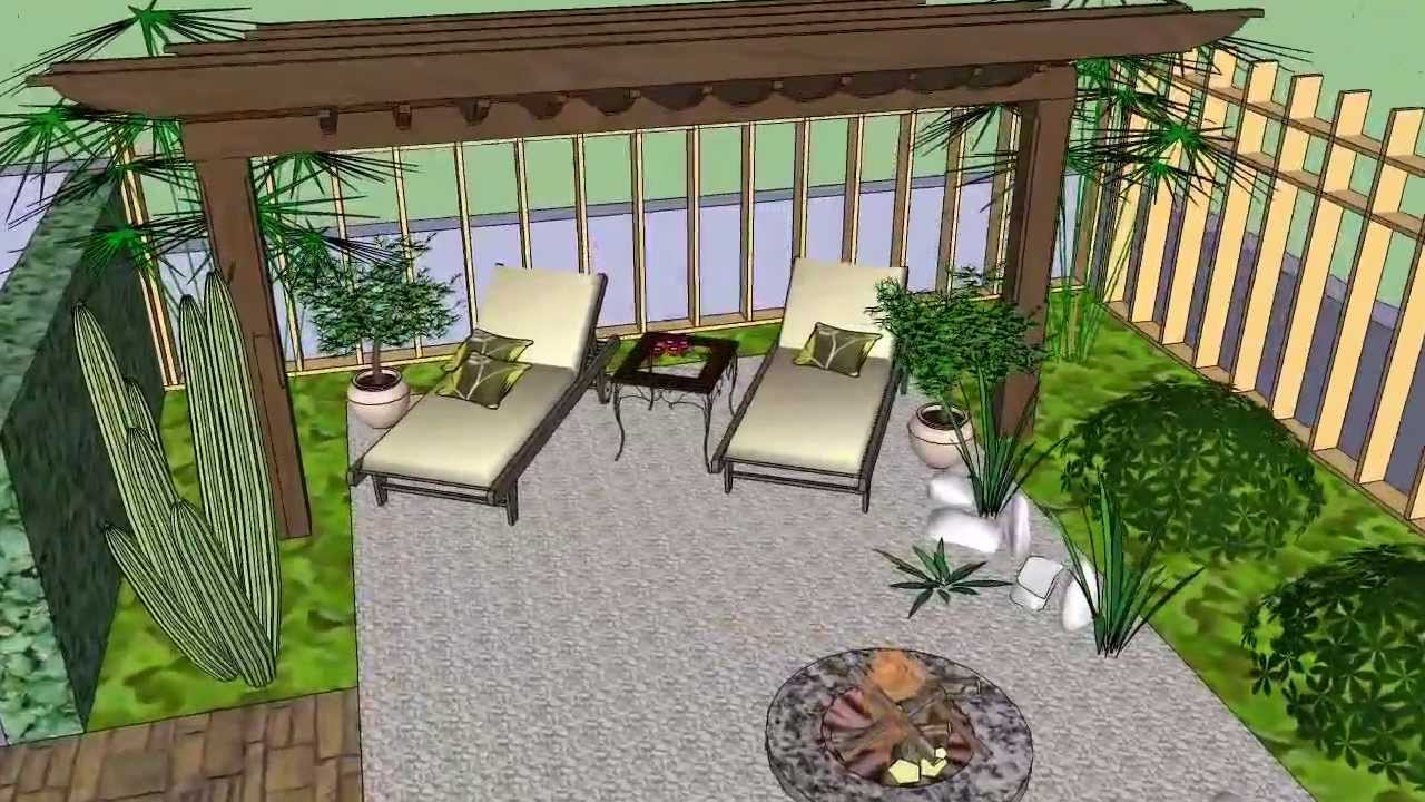 Garden design 3d movie 1 youtube for 3d garden design