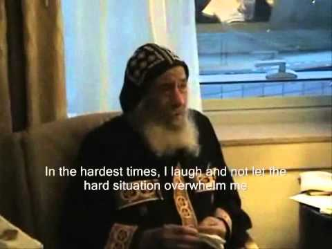 Pope Shenouda Comments About Importance Of Laughing English Subtitles
