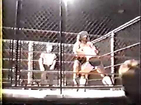 Luger vs Bruiser Brody Cage Match Shoot