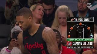 Damian Lillard Three-Point Contest First Round | 2019 NBA All-Star