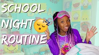 SCHOOL NIGHT ROUTINE 2018 / BACK TO SCHOOL NIGHT ROUTINE