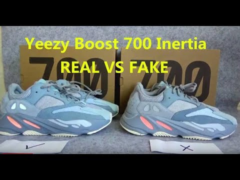 100% authentic 21750 bb430 REAL VS FAKE For Yeezy Boost 700 Inertia