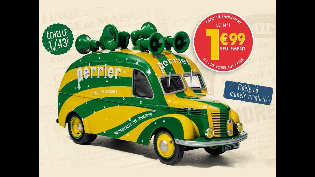 Véhicules publicitaires miniatures : le pub Auto Plus