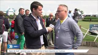 Open de golf : premier jour de compétition à Saint-Quentin-en-Yvelines