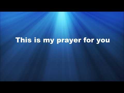 My Prayer For You - Alisa Turner  Instrumental  with lyrics