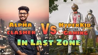 #AlphaClasher #HyperKIDGaming Alpha Clasher Vs HyperKIDGaming In PUBGM Death Zone #ShaktimaanGaming