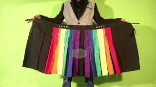 Rainbow Leather Straps Kilt By All Kilts Sports
